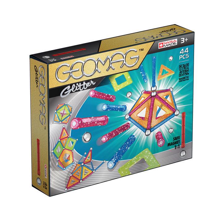 Juego de construccion geomag glitter 44 piezas