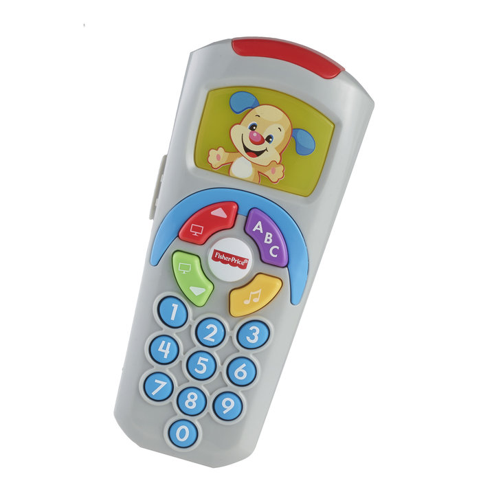 Juego mando a distancia de perrito fisher price