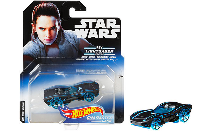 Coches hot wheels personajes star wars surtido
