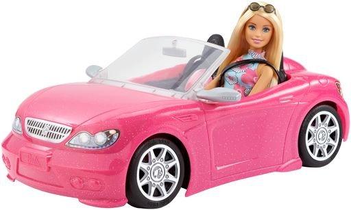 Muñeca barbie + vehiculo