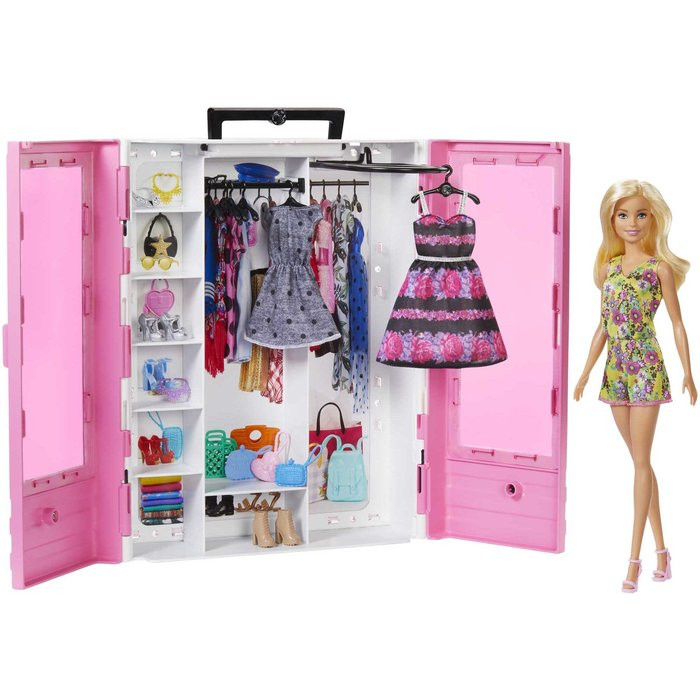 Barbie super armario con muÑeca