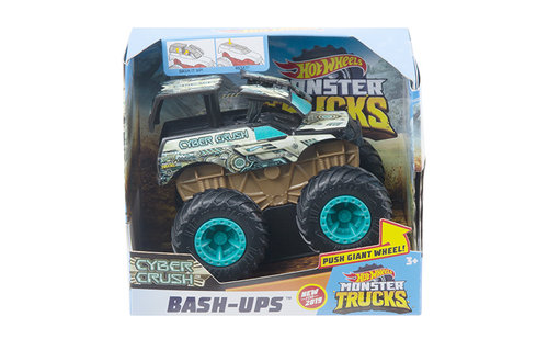 Hot wheels monster trucks vehiculos superchoques surtido