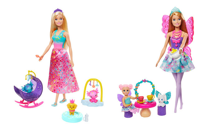 MuÑecas y accesorios de barbie dreamtopia surtido