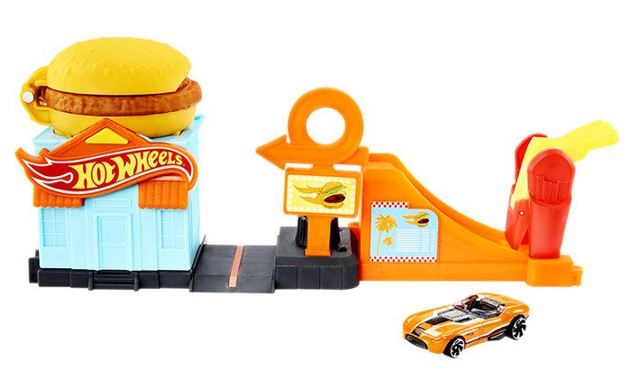 Hot wheels city downtown burger bash