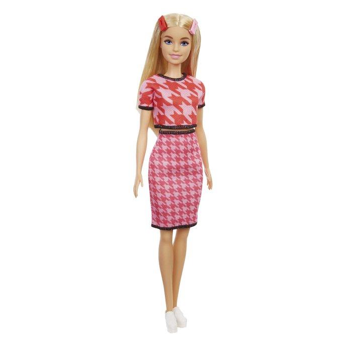MuÑeca barbie fashionista conjunto pata de gallo