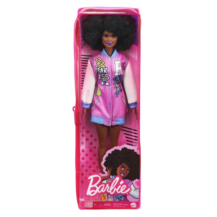 Barbie fashionista chaqueta beisbolera