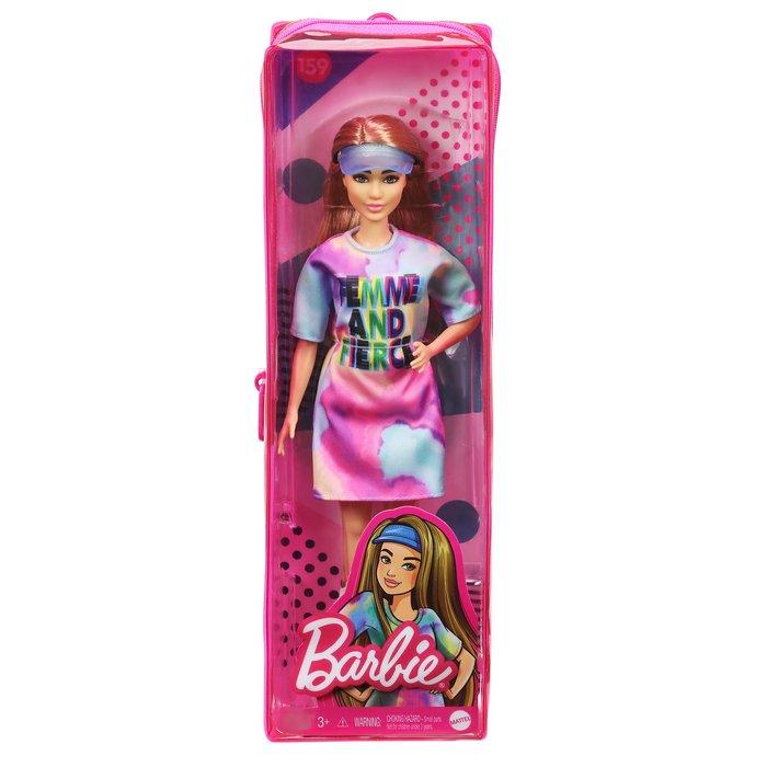 Barbie fashionista vestido teÑido