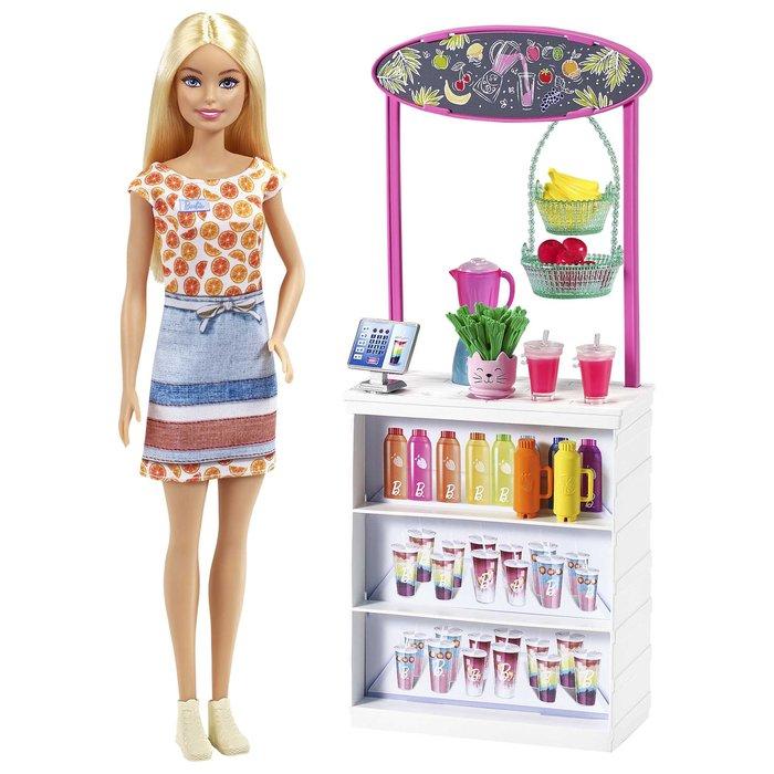 Barbie puesto de smoothies