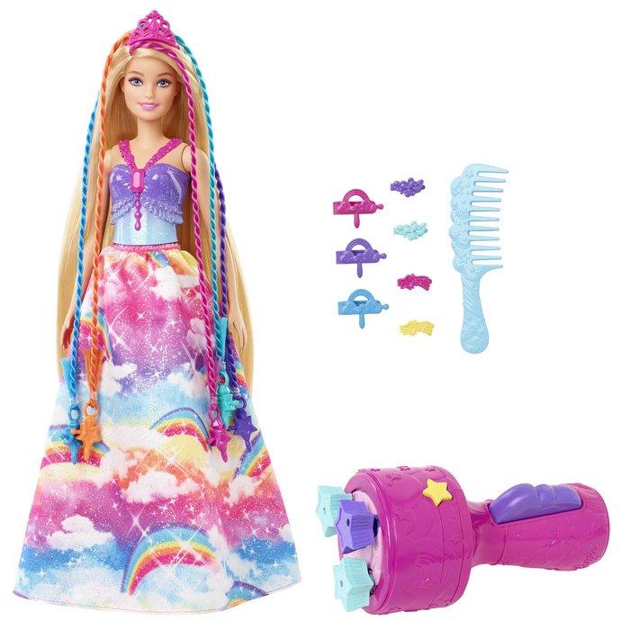 Barbie princesa trenzas