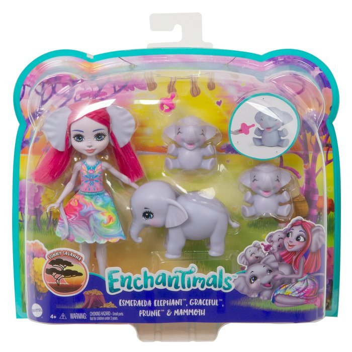 Familia esmeralda elephant