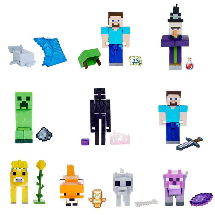 Minecraft figura surtida