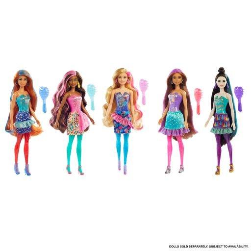 MuÑeca barbie color reveal fiesta ola 4