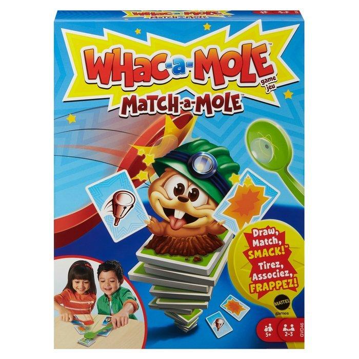 Whac a mole. juego de cartas