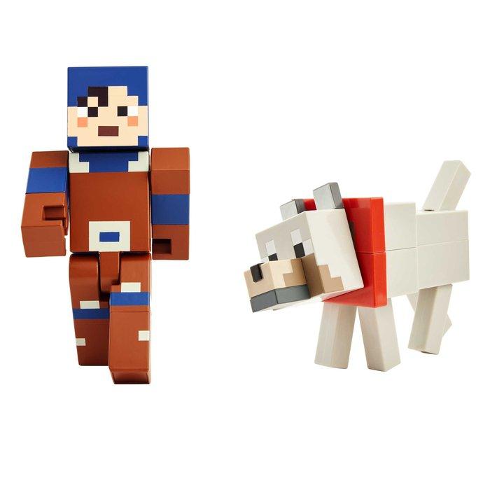 Minecraft dungeons figura con accesorios mod. surtidos