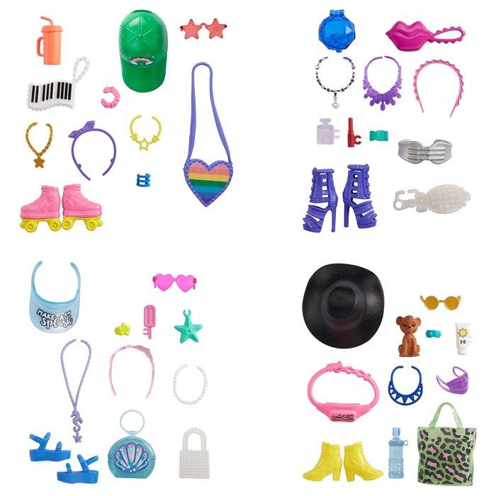 Barbie accesorios de moda (mod. surt.)
