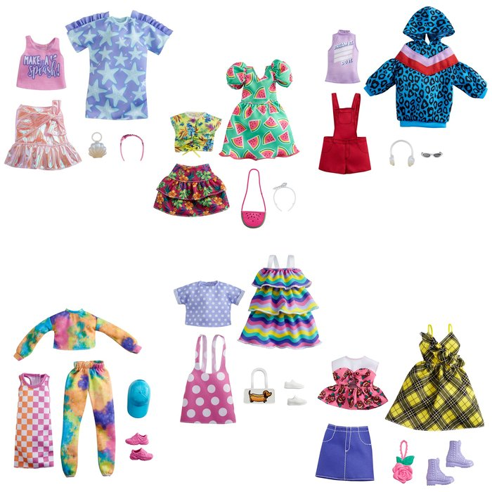 Barbie moda pack 2 (mod. surt.)