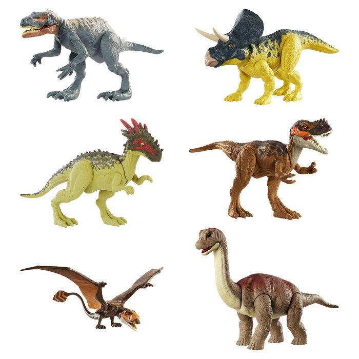 Jurassic world dinosaurio articulado salvaje (surtidos)
