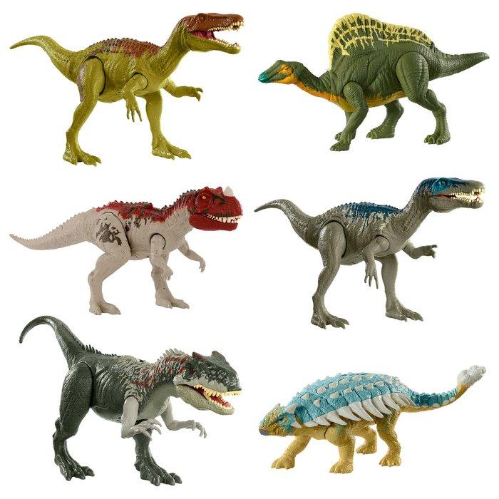 Jurassic world ataque rugido (modelos surtidos)