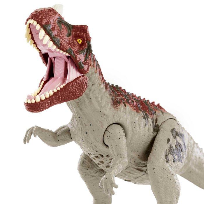 Jurassic world ataque rugido ceratosaurus