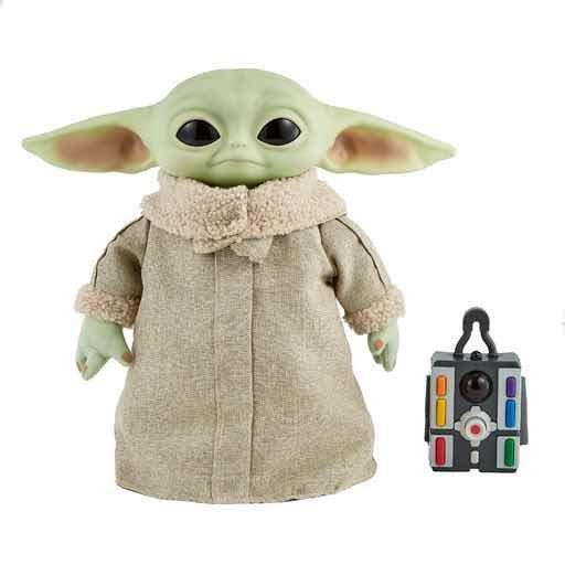 Star wars baby yoda con movimientos