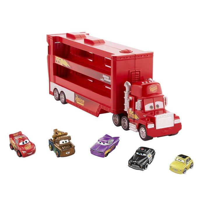 Cars mack camion miniracer + 5 minis