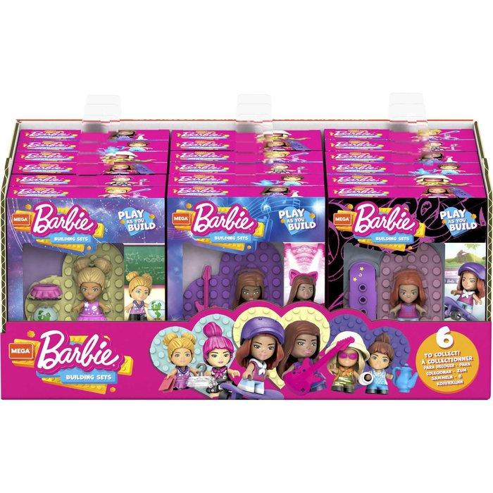 Mega construx barbie tu puedes ser (modelos surtidos)