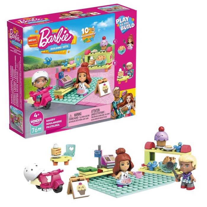 Mega construx barbie set de juego (modelos surtidos)