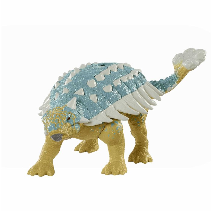 Jurassic world ataque rugido ankylosaurus