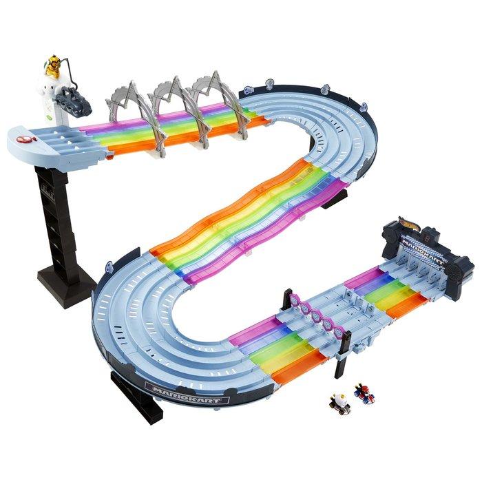 Hot wheels mario kart pista arcoiris