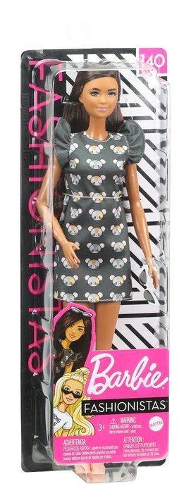 Barbie fashionista vestido ratones