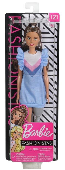 Barbie fashionista pierna protesica