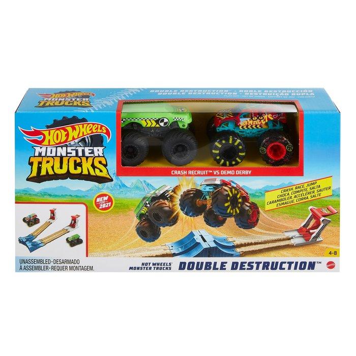 Monster trucks juego doble destruccion