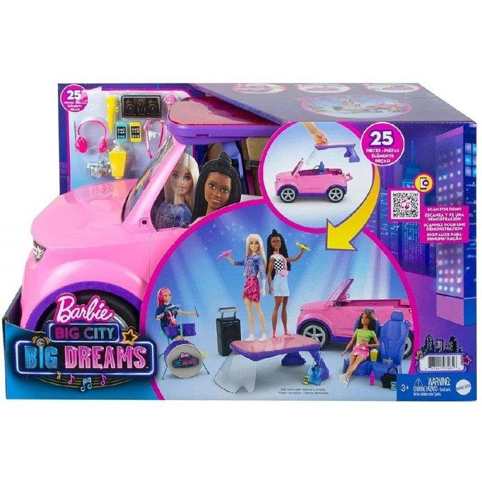 Barbie dreamhouse coche musical