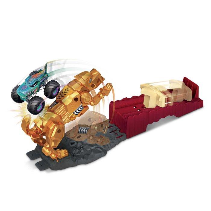 Hot wheels monster trucks coche con set de juego (surtidos)