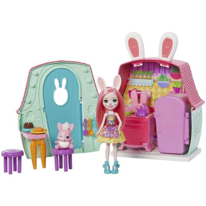 Enchantimals casas personajes bunny