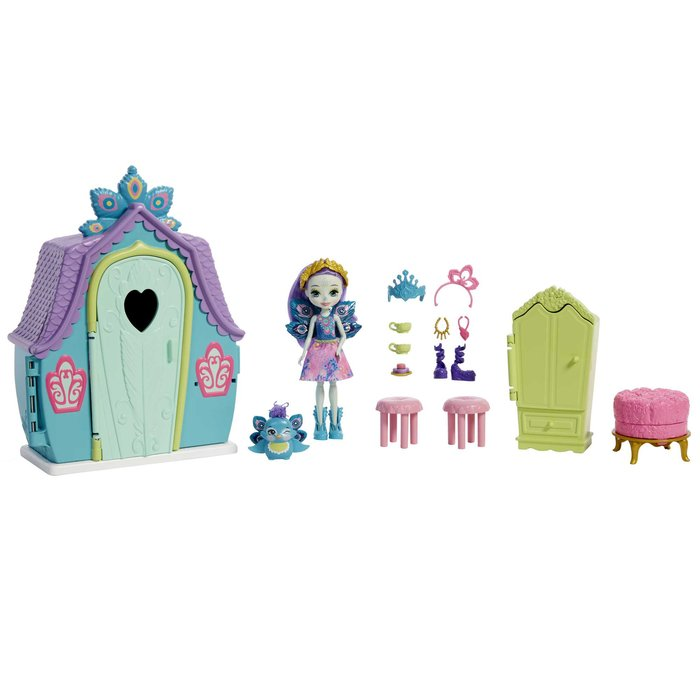 Enchantimals casas personajes peacock