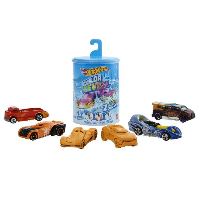 Hot wheels color reveal 2pk ast (modelo surtido)