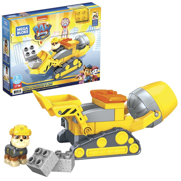 Mega bloks la patrulla canina coche para construir (3)