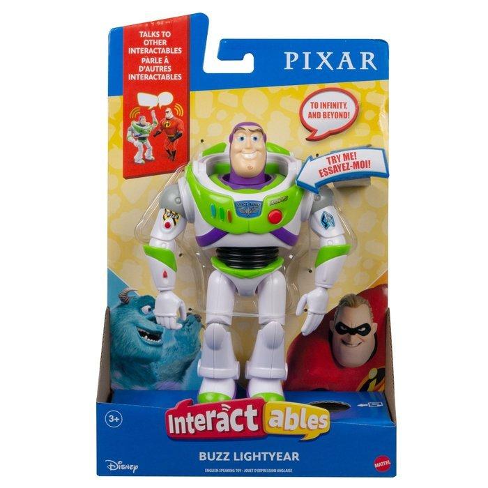 Pixar figura interactiva buzz
