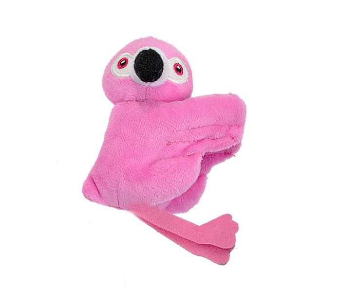Peluche flamingo pink clip