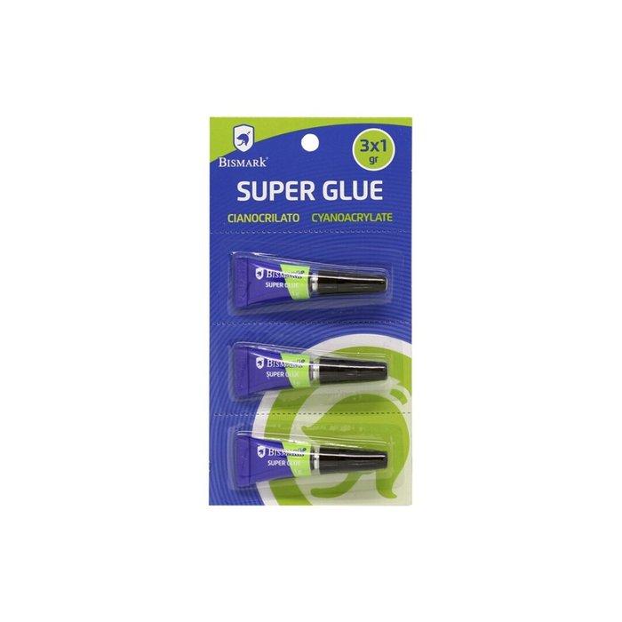Pegamento super glue bismark 1grm blister