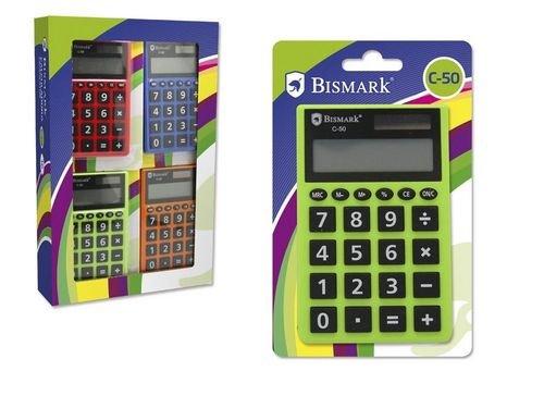 Calculadora bismark 16u mod c-50 8 digitos escolar surtida