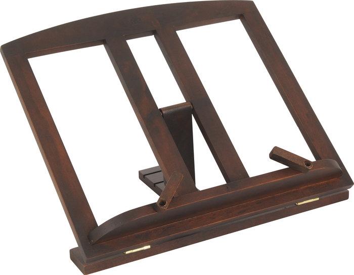 Atril madera c/clips nogal 25x24cm