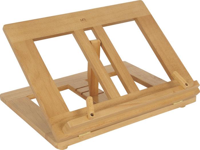 Atril madera base c/clips 35x26cm