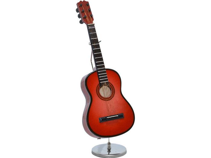 Guitarra acustica clasica cerezo 15cm stand