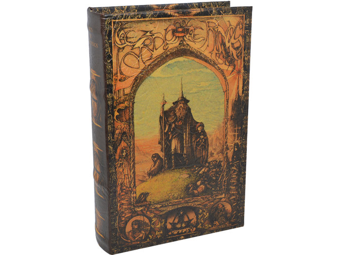 Libro caja fuerte lord hobbit 16x5x24cm