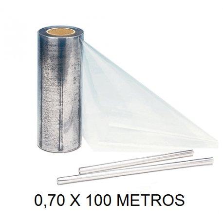 Forralibros bobina plastico 0.70x100 renolit