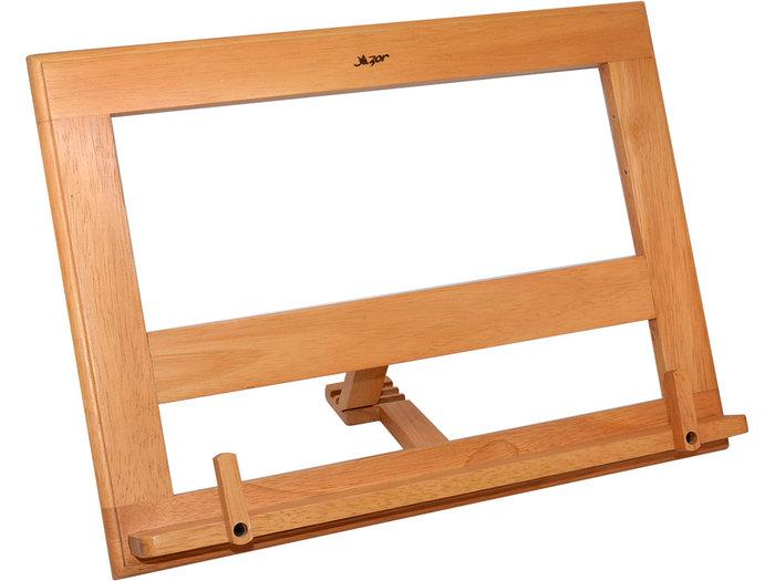 Atril madera med haya c/clips 185 35x26cm azor