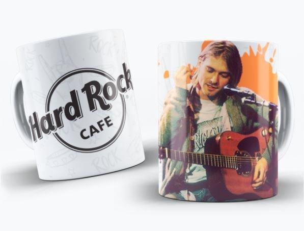 Taza leyendas rock kurt cobain