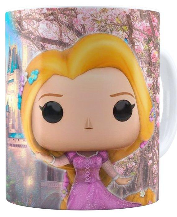 Taza princesas disney rapunzel